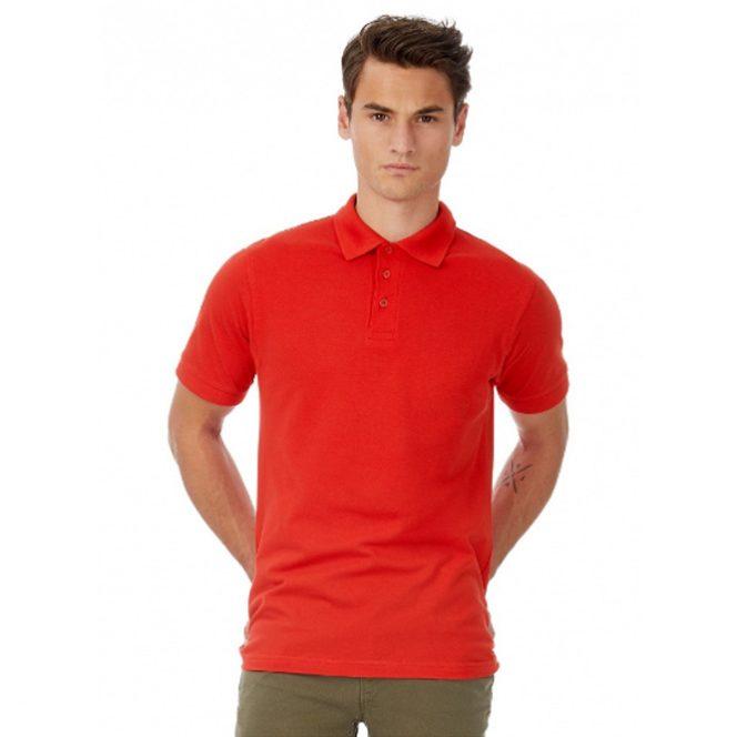 Polo-Shirt-Safran