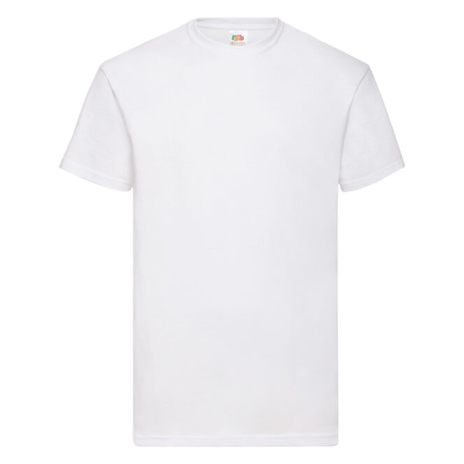 Fruit of the Loom - VALUEWEIGHT T Mens - White - Front